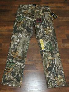 NEW Mens Realtree Edge 5 Pocket Pants CHOOSE SIZE Camo Hunting Bottoms