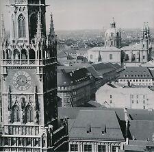 ALLEMAGNE c. 1958 - Horloge de l'Hôtel de Ville  Munich  - Div 10426