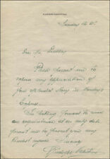 """RUDOLPH """"THE SHEIK"""" VALENTINO - AUTOGRAPH LETTER SIGNED"""