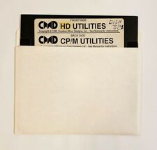 Commodore 64 128 CMD Hard Drive Utilities Floppy Disc w/ CP/M Utilities