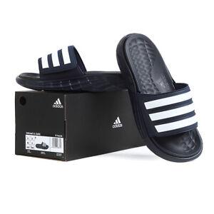 Adidas Duramo SL Men's Slides Slipper Navy/White FY6034