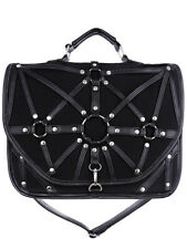 Bag Black Saddlebag 60's 90 Harness and Straps restyle restyle