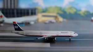 1:400 AeroClassics AMERICAN AIRLINES A321, N578UW, US Airways Livery