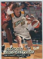 2000 Ultra WNBA Basketball :  Pick 20 Cards To Complete Your Set