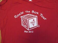 Rock the Box Tour the Naked Grape 2013 T Shirt Size 2XL