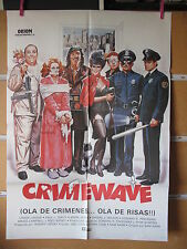 A1200 Ola De Risas Crimewave Louise Lasser Brion James Sam Raimi