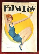 Film Fun Magazine ~ August 1926 ~ Cover by Enoch Bolles Maid of Moonshine