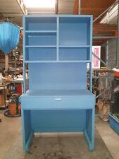 Custom Turquoise / Light Blue Design storage Workbench Design Furniture