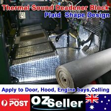 5Meters Auto Heat Sound Deadener Insulation Noise Proofing Closed Cell Foam 6mm