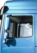 2X DAF PISTON SIDE WINDOW STICKER DECAL  DAF XF CF LF HAULAGE LORRY TRUCK