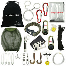 Outdoor Hiking Camping Tools Emergency Survival Tool Set Kit Equipment Gear