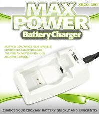Max Power Battery Charger for XBOX 360 (UK 3 pin plug)