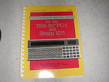 Practical Programs For Your Pocket Computer TRS-80 PC-1 and Sharp 1211 Zimmerman