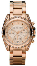 NEW MICHAEL KORS MK5263 ROSE GOLD LADIES BLAIR WATCH - 2 YEAR WARRANTY