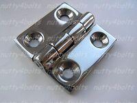 HEAVY-DUTY-STAINLESS STEEL BUTT HINGE 38mm A4- 316 MARINE BOAT DOOR HINGE