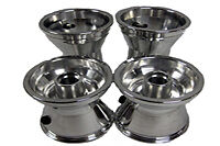 "New Racing Go Kart Barstool Racer Shifter Part Set of 5"" Rims Wheels BK-232"