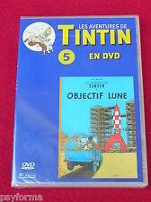 DVD N°5 Les aventures de TINTIN / Objectif Lune / NEUF Sous Blister !!