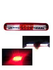 For 99-06 GMC Sierra Chevy Silverado  LED Red/Clear Lens 3rd Third Brake Light