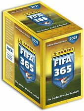 BOX DA 50 BUSTINE DI FIGURINE STICKERS FIFA 365 2021