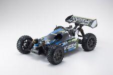 Kyosho Buggy thermique rc inferno neo 3.0 bleu 1/8 Moteur 3,5 cc
