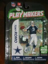 MCFARLANE PLAYMAKERS TONY ROMO Toy Figure - SEALED! w/ NFL hologram sticker! OOP