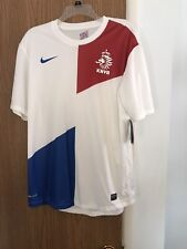 NIKE Holland Netherlands National Team 2013-14 Away Soccer Jersey Men's Large