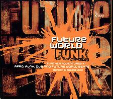 FUTURE WORLD FUNK - 13 TRACKS - CD COMPILATION DIGIPACK