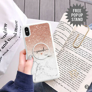 Personalised Phone Case Cover And Pop Up Holder Stand For Apple Samsung 152-3