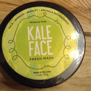Perfectly Posh Kale Fresh Face Mask 2oz Sealed NEW