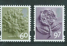 GB England Definitive Stamp Set 30 March 2010