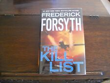 THE KILL LIST, Frederick Forsyth, SIGNED & DATED 1st print US (2013, Hardcover)