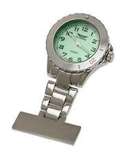 Analoge Silber Taschenuhren mit 24-Stunden-Zifferblatt