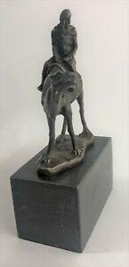 Signed Vienna Bronze Bergman Arab Man Riding Camel Jockey HotCast Sculpture Sale