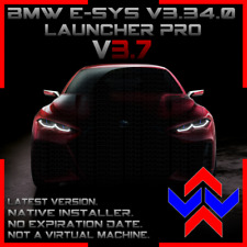 ESYS v3.34.0, Launcher PRO v3.7.0, with PSdZData. NATIVE INSTALLER
