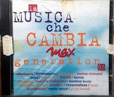 AA.VV. BLUVRTIGO TIROMANCINO LA MUSICA CHE CAMBIA MAX GENERATION 96 CD ITALY