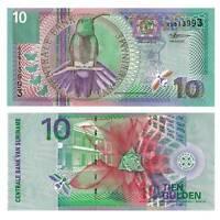 Pick 147 Surinam / Suriname 10 Gulden 2000  Unc. / 4110832vvv.