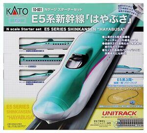 Kato 10-001 Shinkansen E5 'Hayabusa' Starter Set (N scale)