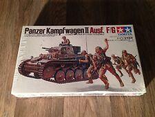 TAMIYA ORIGINAL PANZER KAMPF WAGEN II AUSF. F/G FROM THE 1990S NEW IN THE BOX