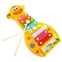Kid Baby Musical Instrument 8-Note Xylophone Wisdom Development Toy BB