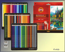 Mondeluz Art-Set - 72 Aquarellstifte + Pinsel und Anspitzer - B-Ware