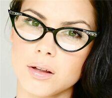 Vintage Retro Fashion Cat Eye Women Hipster Tortoise Eyeglasses Glasses