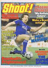 CHARLIE NICHOLAS / GRAEME SOUNESS / PAUL MARINERShoot 2July1983