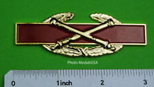 Combat Artillery Badge Award 3 inch CAB Army Pin