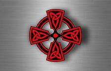 Sticker adesiva adesivi tuning auto celtico trinity triquetra croce knot rA5