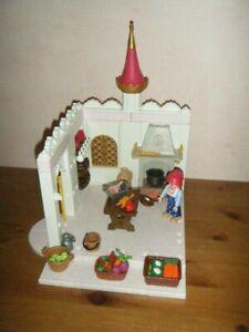 Playmobil cuisine pour château princesse 4250