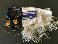 Vintage Tefillin & Tallit Ashkenaz Kosher Sefard Hasidic 2