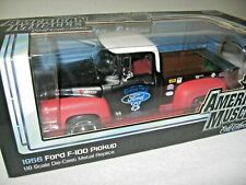 1956 FORD F-100 PICKUP 1 OF 750 ELITE ERTL  1:18 OPENING HOOD DOORS & TAILGATE