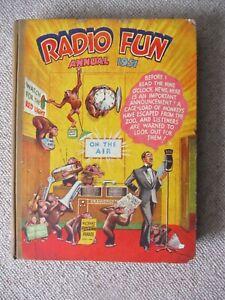 A RARE  RADIO FUN ANNUAL 1951