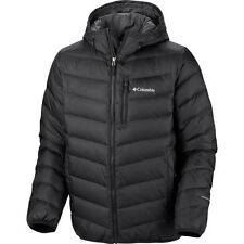 Columbia Nature Ridge Hooded Down Jacket, Omni Heat, Black