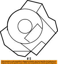 CHRYSLER OEM Airbag Air Bag-Clockspring Clock Spring 56046497AF
